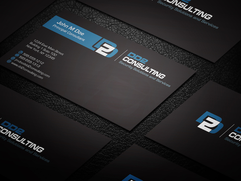 DD2 Consulting Business Cards and Stationery  Draft # 25 by upwork