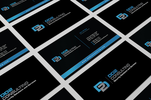 DD2 Consulting Business Cards and Stationery  Draft # 28 by i3designer