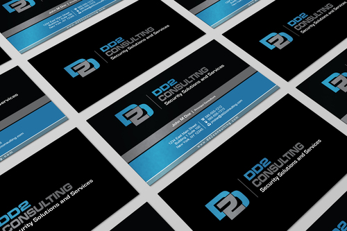 DD2 Consulting Business Cards and Stationery  Draft # 29 by i3designer