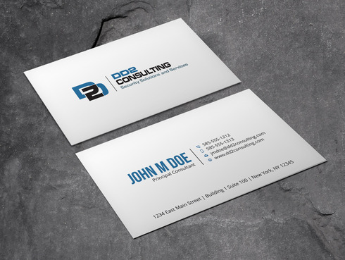 DD2 Consulting Business Cards and Stationery  Draft # 41 by Xpert