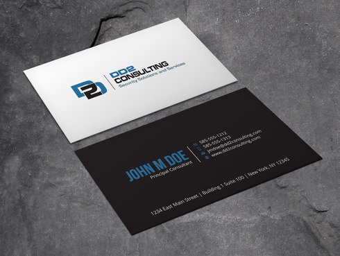 DD2 Consulting Business Cards and Stationery  Draft # 42 by Xpert