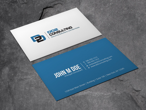 DD2 Consulting Business Cards and Stationery  Draft # 43 by Xpert