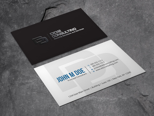 DD2 Consulting Business Cards and Stationery  Draft # 45 by Xpert