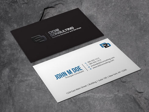 DD2 Consulting Business Cards and Stationery  Draft # 46 by Xpert