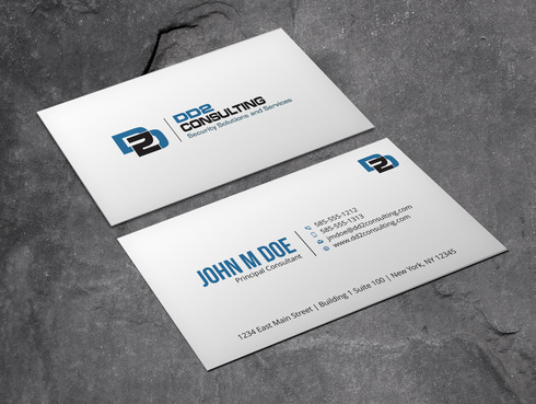 DD2 Consulting Business Cards and Stationery  Draft # 47 by Xpert