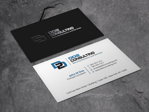 DD2 Consulting Business Cards and Stationery  Draft # 49 by Xpert