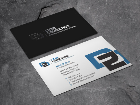 DD2 Consulting Business Cards and Stationery  Draft # 50 by Xpert