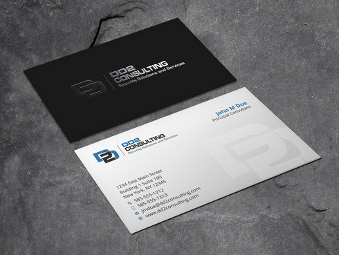 DD2 Consulting Business Cards and Stationery  Draft # 51 by Xpert