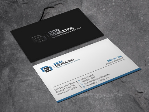 DD2 Consulting Business Cards and Stationery  Draft # 52 by Xpert