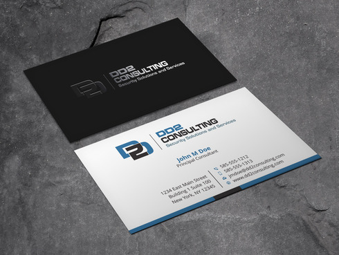 DD2 Consulting Business Cards and Stationery  Draft # 53 by Xpert