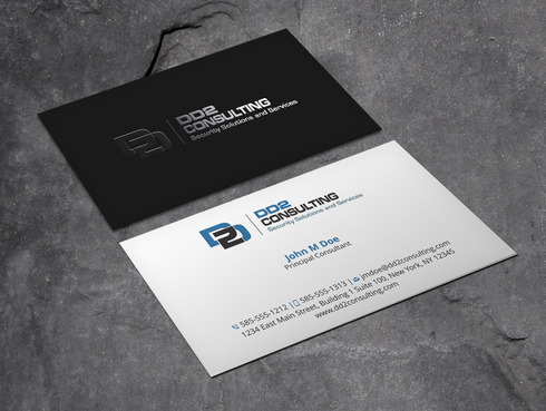 DD2 Consulting Business Cards and Stationery  Draft # 54 by Xpert