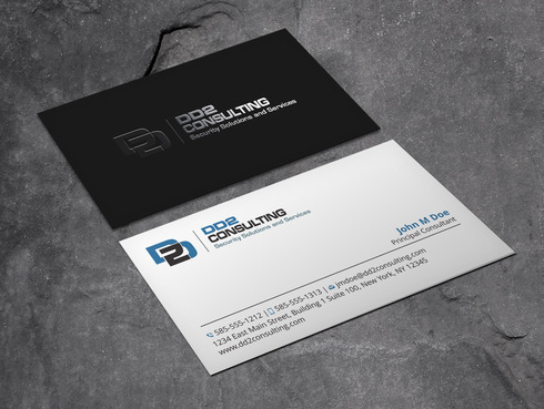 DD2 Consulting Business Cards and Stationery  Draft # 55 by Xpert