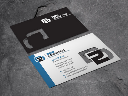 DD2 Consulting Business Cards and Stationery  Draft # 56 by Xpert