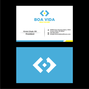 Boa Vida Healthcare Business Cards and Stationery  Draft # 152 by Himawari