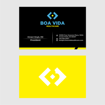Boa Vida Healthcare Business Cards and Stationery  Draft # 153 by Himawari