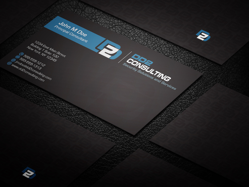 DD2 Consulting Business Cards and Stationery  Draft # 190 by upwork