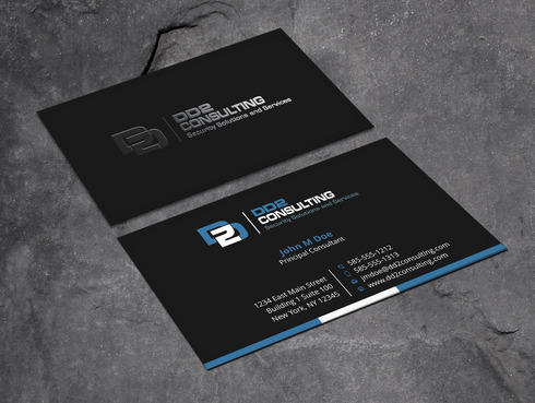 DD2 Consulting Business Cards and Stationery  Draft # 194 by Xpert