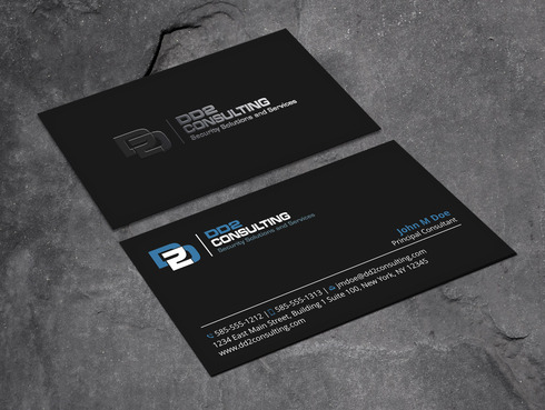 DD2 Consulting Business Cards and Stationery  Draft # 195 by Xpert