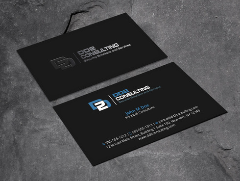 DD2 Consulting Business Cards and Stationery  Draft # 196 by Xpert