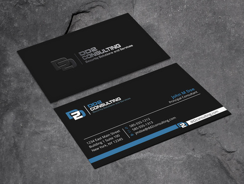 DD2 Consulting Business Cards and Stationery  Draft # 197 by Xpert