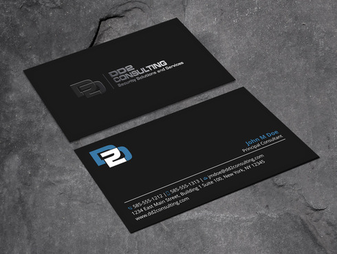 DD2 Consulting Business Cards and Stationery  Draft # 198 by Xpert