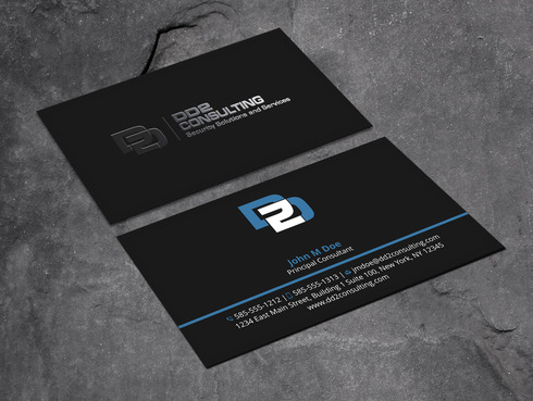 DD2 Consulting Business Cards and Stationery  Draft # 199 by Xpert