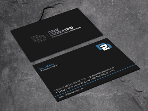 DD2 Consulting Business Cards and Stationery  Draft # 200 by Xpert