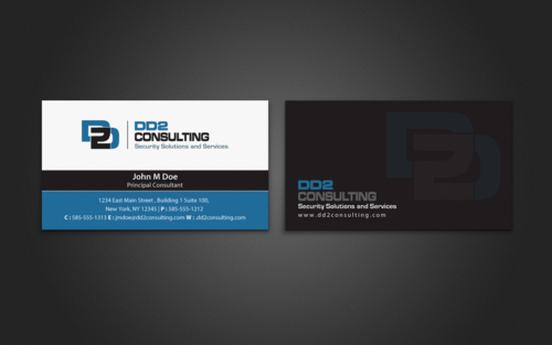 DD2 Consulting Business Cards and Stationery  Draft # 208 by einsanimation
