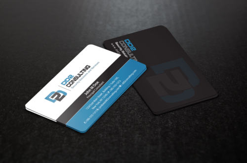 DD2 Consulting Business Cards and Stationery  Draft # 209 by einsanimation