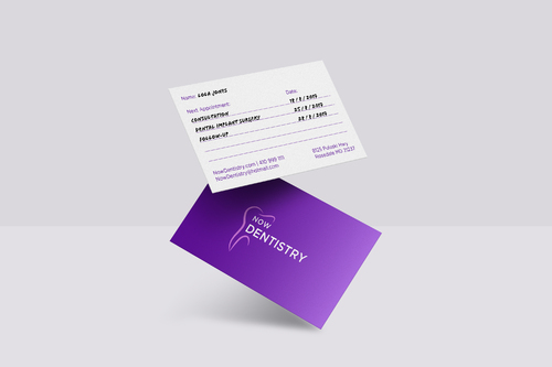 Now Dentistry Business Cards and Stationery  Draft # 200 by ellenajj