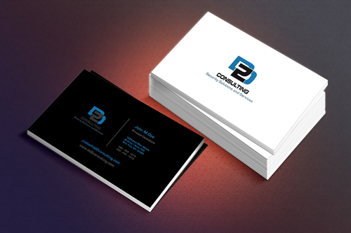 DD2 Consulting Business Cards and Stationery  Draft # 231 by OneArt2