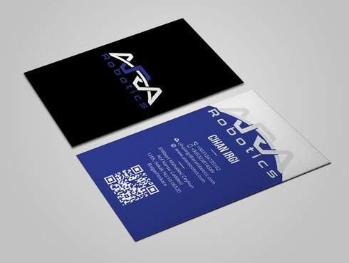 ARA Robotics Business Cards and Stationery  Draft # 97 by Xpert
