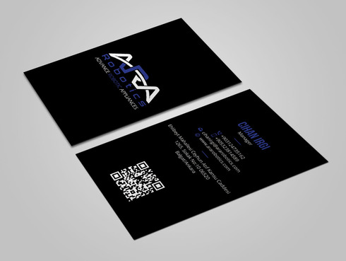 ARA Robotics Business Cards and Stationery  Draft # 160 by Xpert