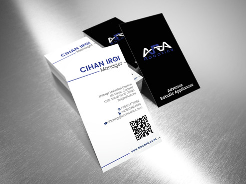 ARA Robotics Business Cards and Stationery  Draft # 189 by sevensky