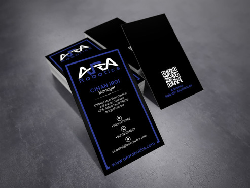 ARA Robotics Business Cards and Stationery  Draft # 197 by sevensky