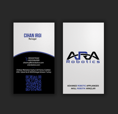ARA Robotics Business Cards and Stationery Winning Design by einsanimation