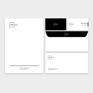 Office Furniture Company Business Cards and Stationery  Draft # 1 by veloz