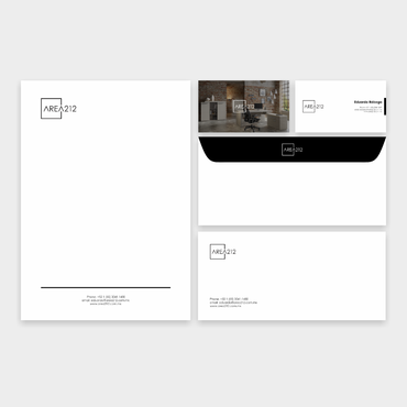 Office Furniture Company Business Cards and Stationery  Draft # 2 by veloz
