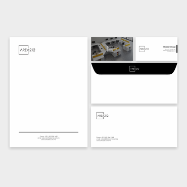 Office Furniture Company Business Cards and Stationery  Draft # 136 by veloz