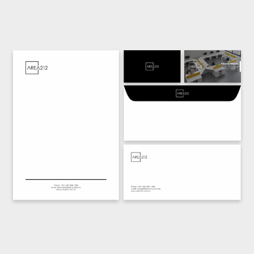 Office Furniture Company Business Cards and Stationery  Draft # 137 by veloz