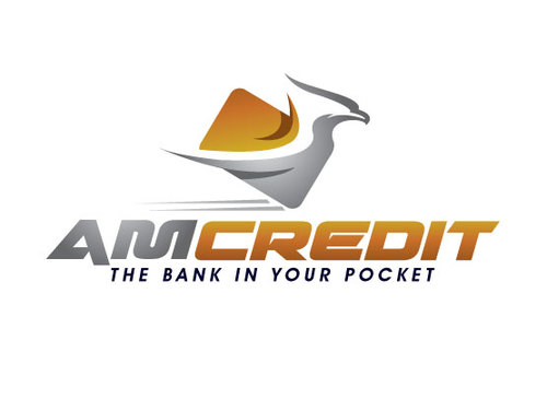 AMcredit Logo Winning Design by shreeganesh