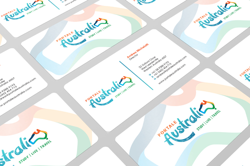 Portale Australia Business Cards and Stationery  Draft # 103 by i3designer