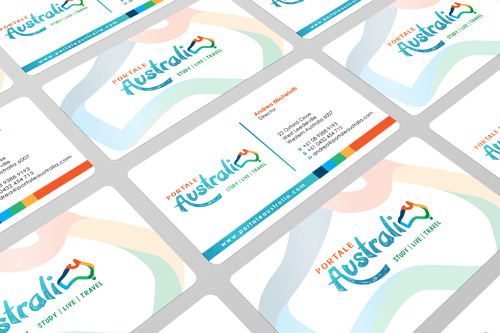 Portale Australia Business Cards and Stationery  Draft # 105 by i3designer