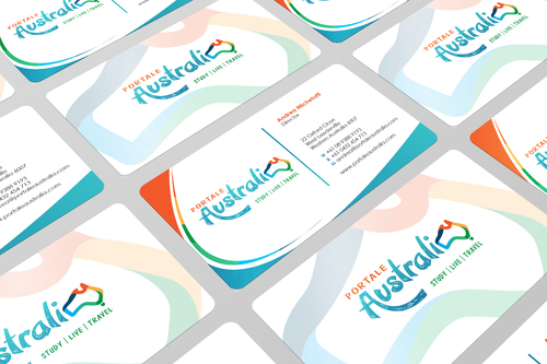 Portale Australia Business Cards and Stationery  Draft # 106 by i3designer