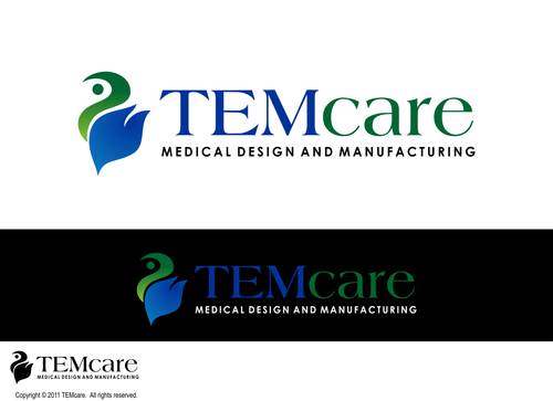 TEMcare Medical Design and Manufacturing  A Logo, Monogram, or Icon  Draft # 450 by VaastuDesign