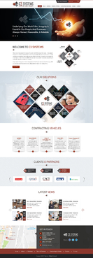 C3 SYSTEMS Complete Web Design Solution Winning Design by jogdesigner