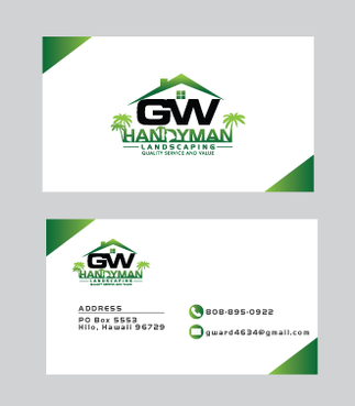 GWCard and Material Business Cards and Stationery  Draft # 1 by gosto