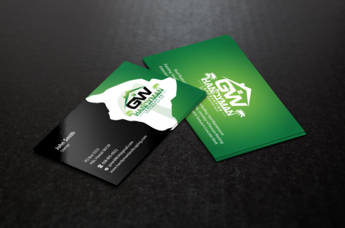 GWCard and Material Business Cards and Stationery Winning Design by einsanimation