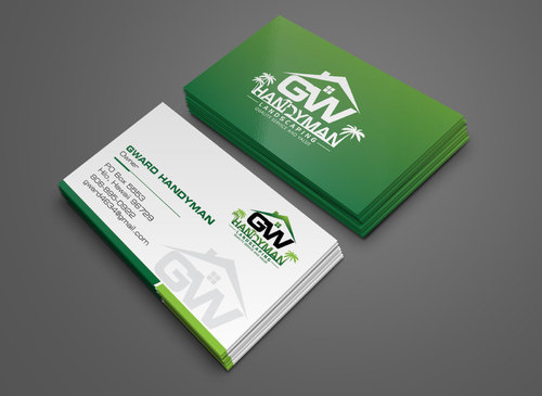 GWCard and Material Business Cards and Stationery  Draft # 158 by yoezer32