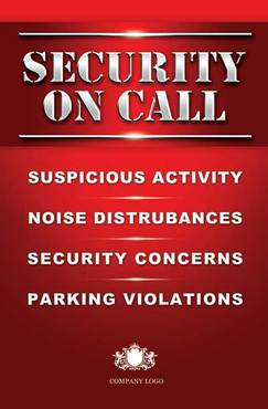 Security On Call Other  Draft # 5 by duke396